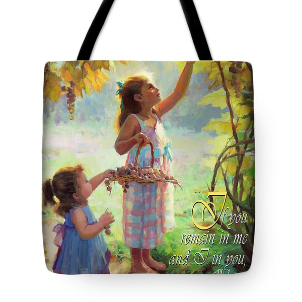 You Will Bear Much Fruit Tote Bag