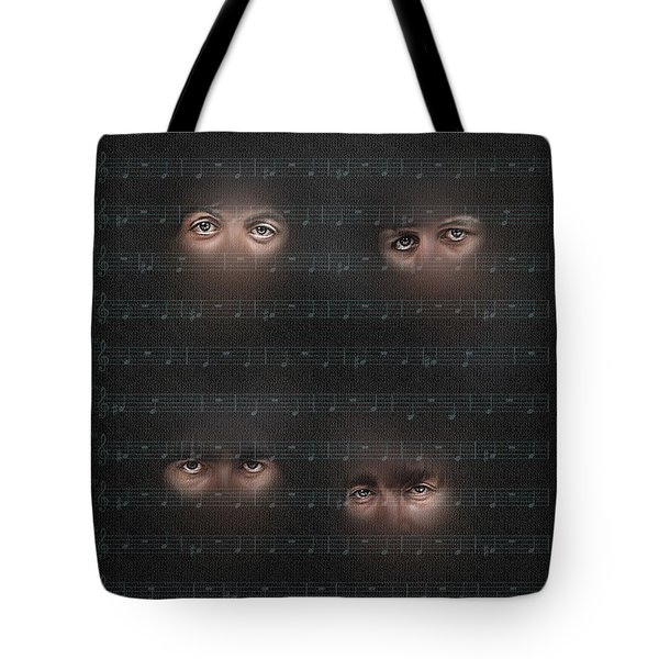 Tote Bag featuring the photograph You Won T See Me by Pedro L Gili