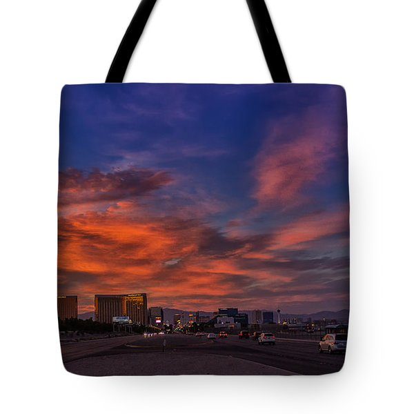 Tote Bag featuring the photograph You'll Never Walk Alone by Michael Rogers