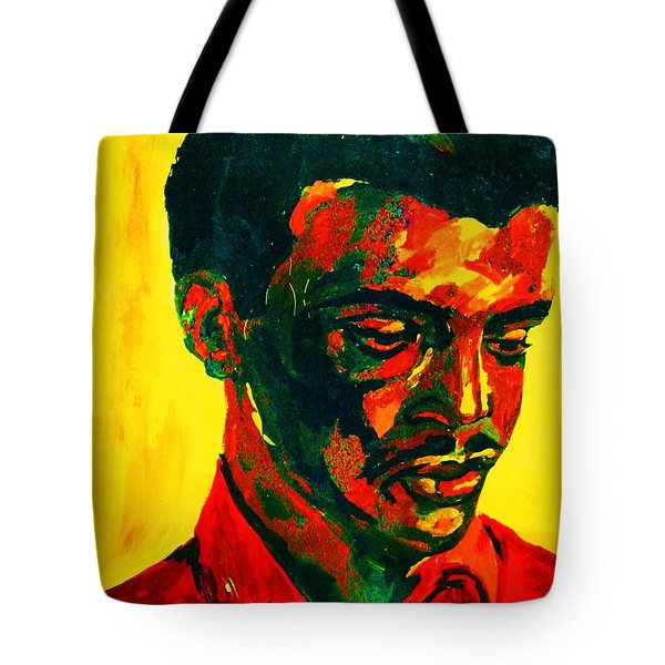 Young African Man Tote Bag by Carole Spandau