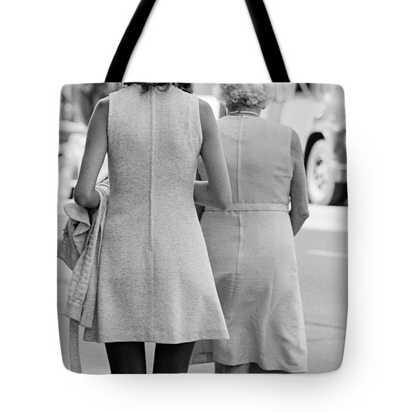 Young And Old Tote Bag