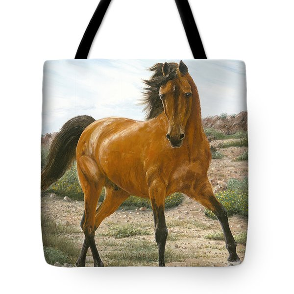 Young And Restless Tote Bag by Doug Kreuger