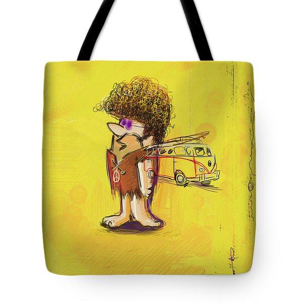 Young Barney Tote Bag