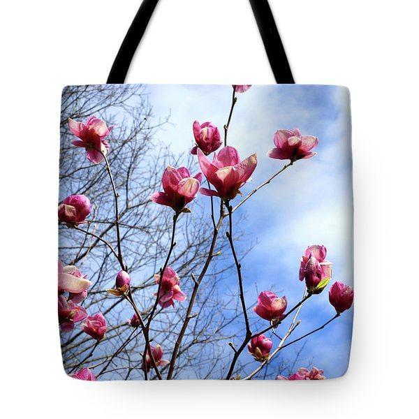 Young Blooms Tote Bag
