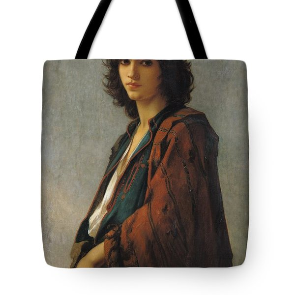 Young Bohemian Serb Tote Bag by Charles Landelle