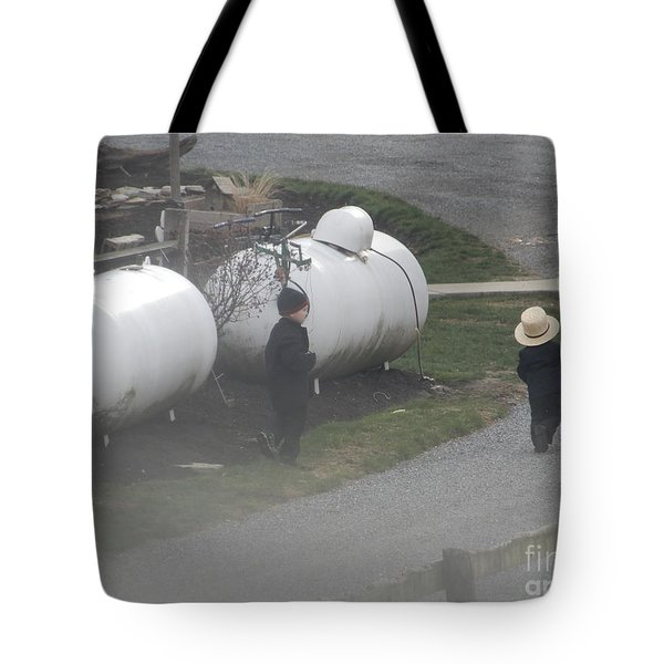 Young Business Men Tote Bag