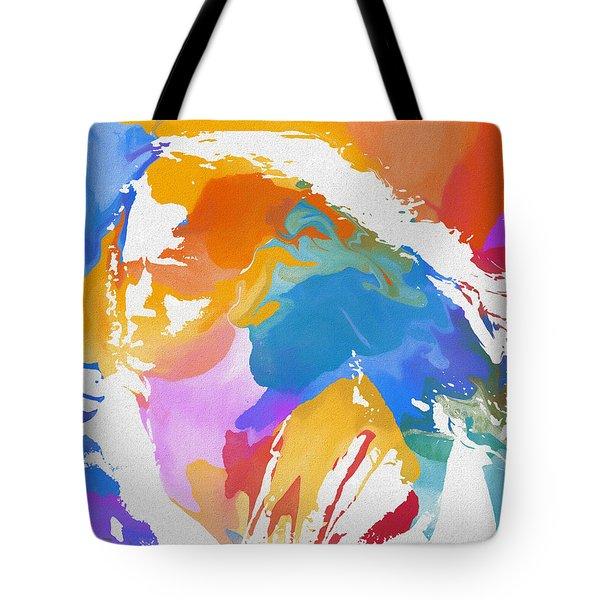 Young Chris Cornell Tote Bag