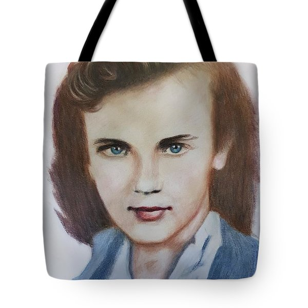 Young Elizabeth  Tote Bag