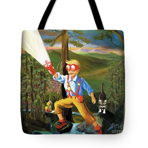 Young Explorer Tote Bag