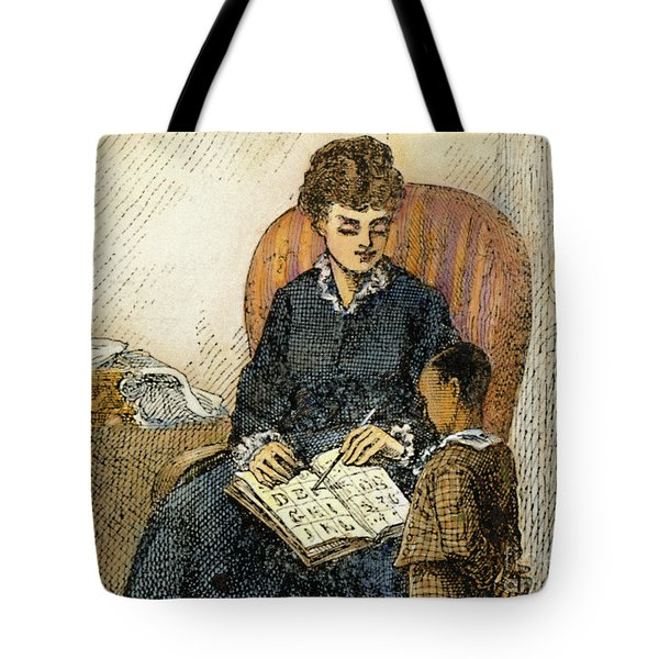 Young Frederick Douglass Tote Bag