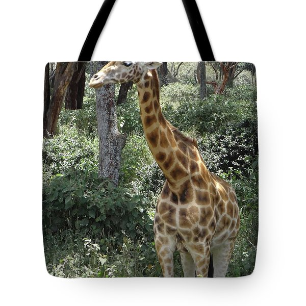 Young Giraffe Tote Bag