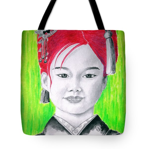 Young Japanese Beauty -- The Original -- Portrait Of Japanese Girl Tote Bag