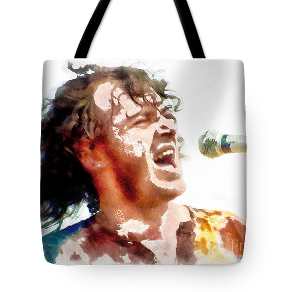 Young Joe Cocker Tote Bag