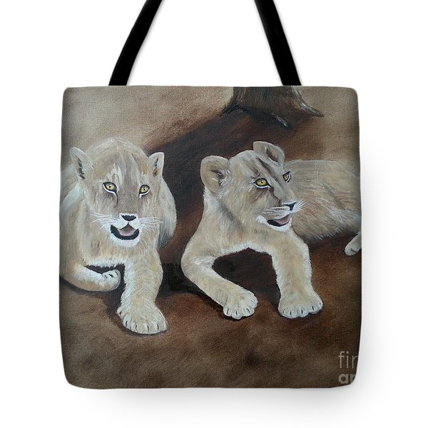 Young Lions Tote Bag