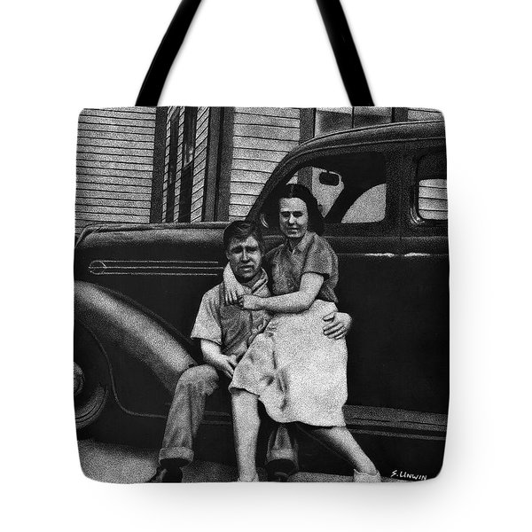 Young Love Tote Bag by Sheryl Unwin
