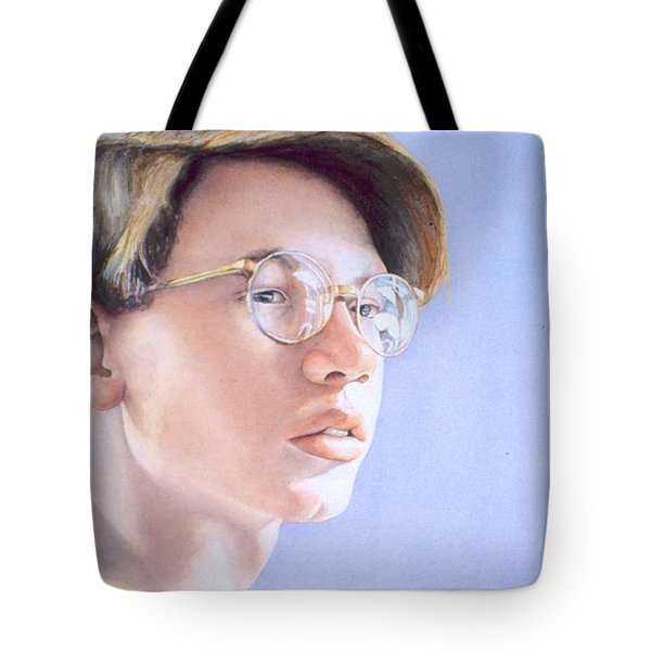 Young Nate Tote Bag