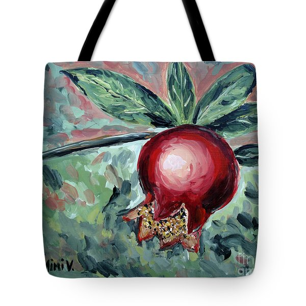 Young Pomegranate Tote Bag