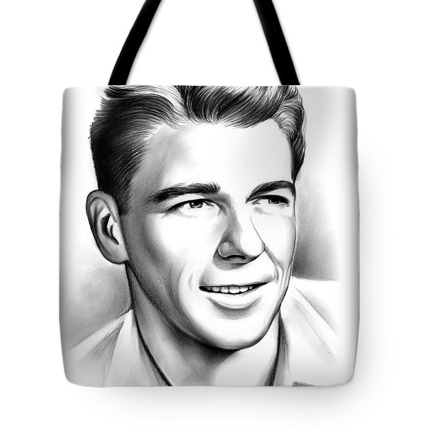 Young Reagan Tote Bag
