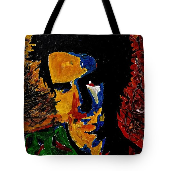 Young Sid Vicious Tote Bag