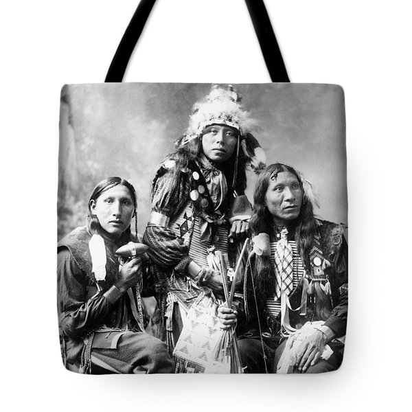 Young Sioux Men, 1899 Tote Bag by Granger