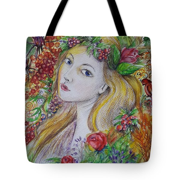 Young Summer  Tote Bag by Rita Fetisov
