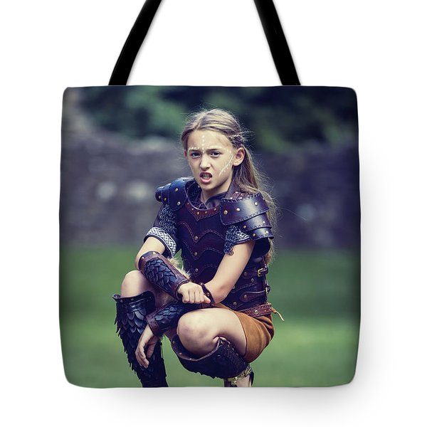 Young Warrior Tote Bag