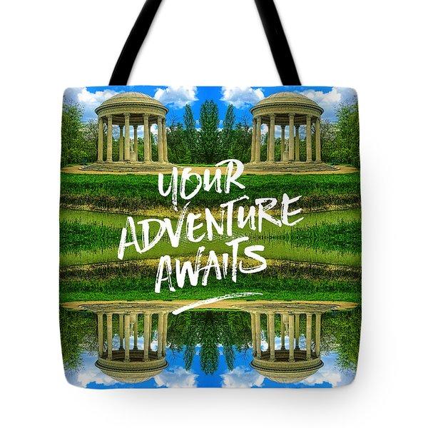 Your Adventure Awaits Temple Of Love Versailles Paris Tote Bag