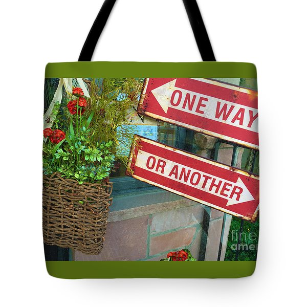 Your Choice Tote Bag by Beth Saffer