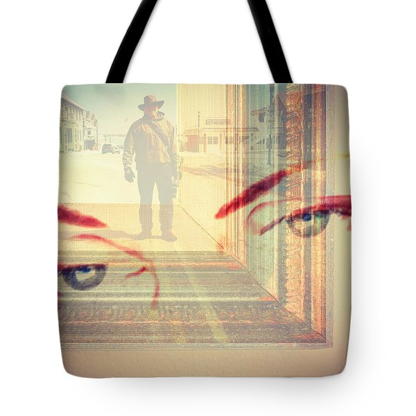 Your Eyes Only Tote Bag