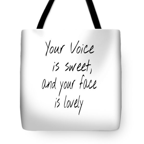Tote Bag featuring the digital art Lovely Face by Jessica Eli