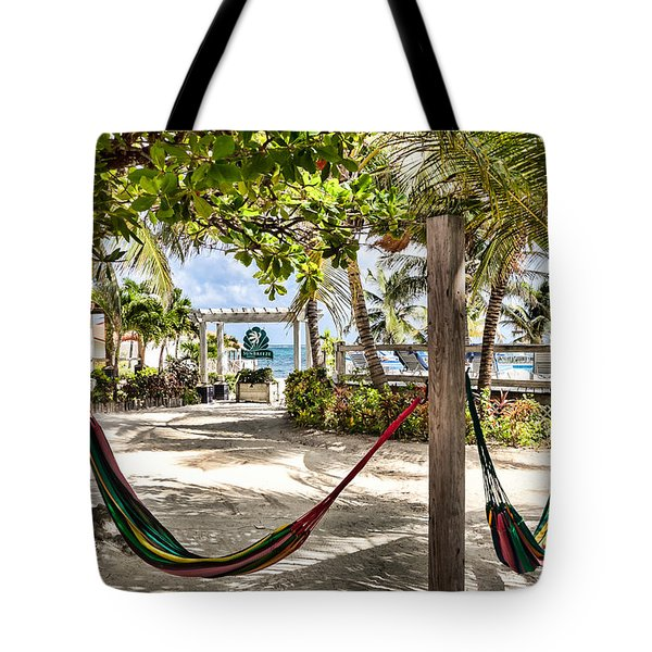 Your Hammock Awaits You Tote Bag