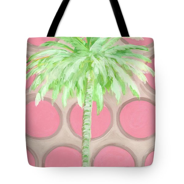 Your Highness Palm Tree Tote Bag by Kristen Abrahamson