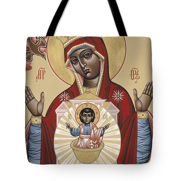 The Black Madonna Your Lap Has Become The Holy Table 060 Tote Bag