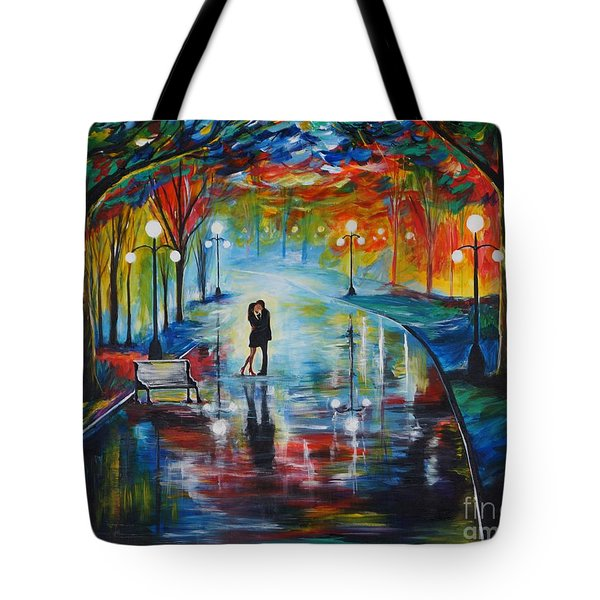 Your Love Tote Bag by Leslie Allen