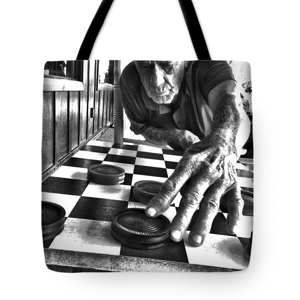 Your Move Dad Bw Art Tote Bag
