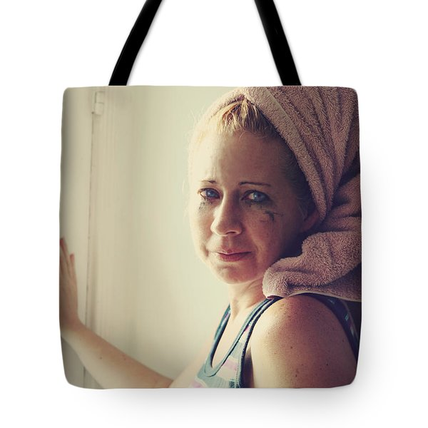 Your Sorrow Shows Tote Bag by Laurie Search