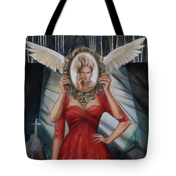 Your Soul Casts No Reflection Tote Bag by Jacque Hudson