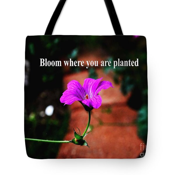 Your Station In Life Tote Bag by Gary Wonning