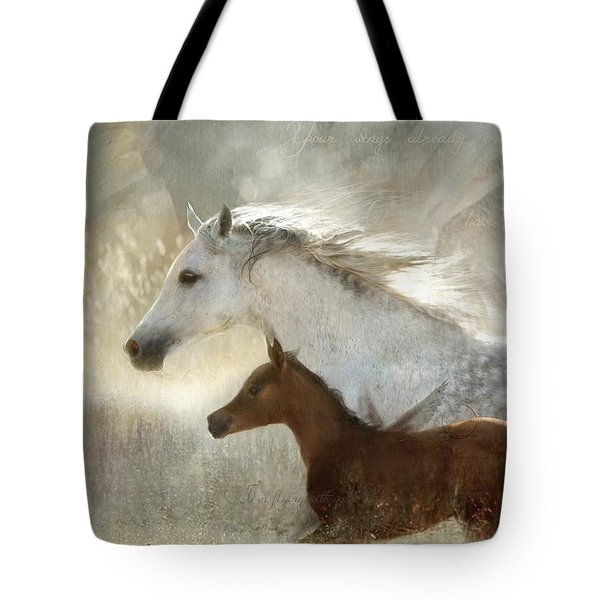 Your Wings Exist  Tote Bag by Dorota Kudyba
