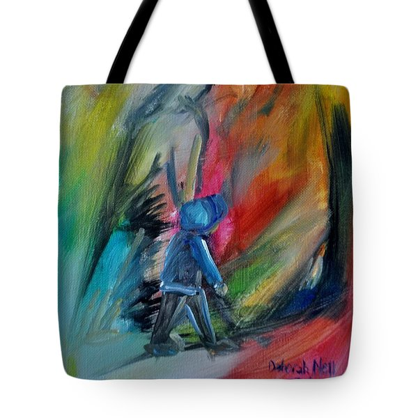 Tote Bag featuring the painting You're Always With Me by Deborah Nell
