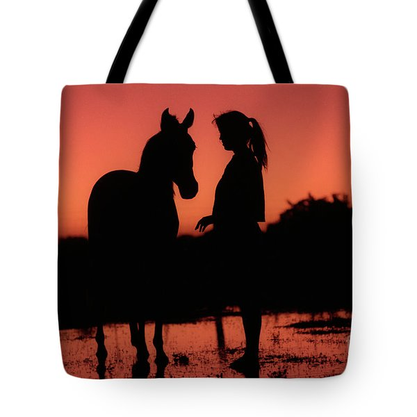 Tote Bag featuring the photograph Youth by Jim and Emily Bush