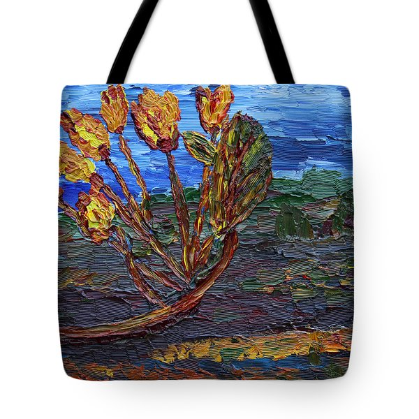Tote Bag featuring the painting Youth Time by Vadim Levin