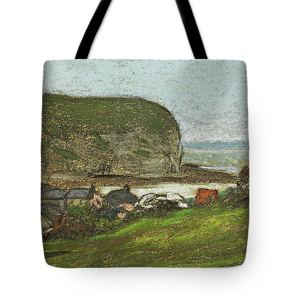 Yport And The Falaise D'aval Tote Bag