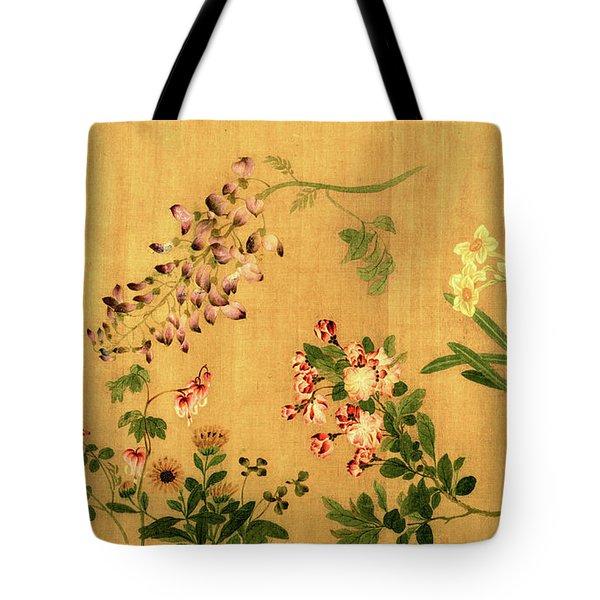Yuan's Hundred Flowers Tote Bag