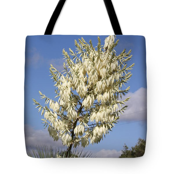 Yucca Flower Tote Bag by Cumberland Warden