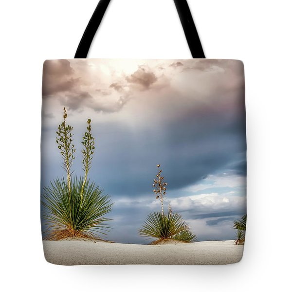 Yucca Three Tote Bag by James Barber