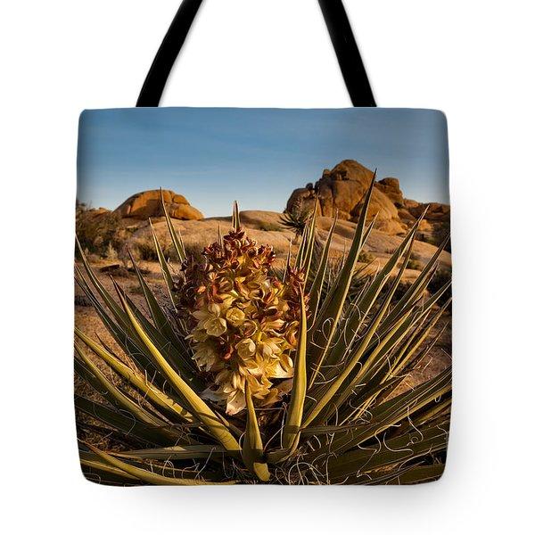 Yucca Bloom Tote Bag