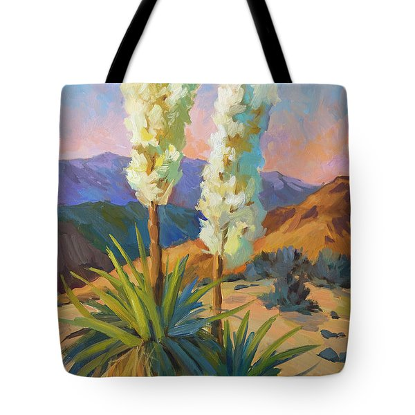 Yuccas Tote Bag by Diane McClary