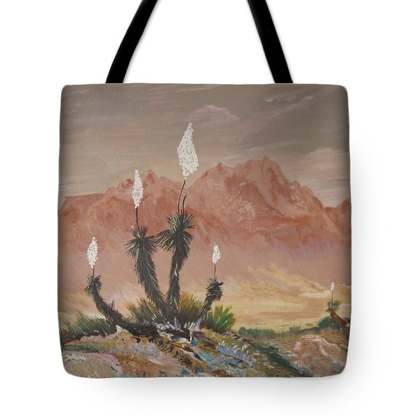 Yuccas In Bloom Tote Bag