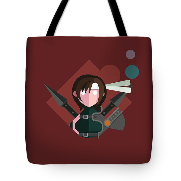 Yuffie Tote Bag by Michael Myers